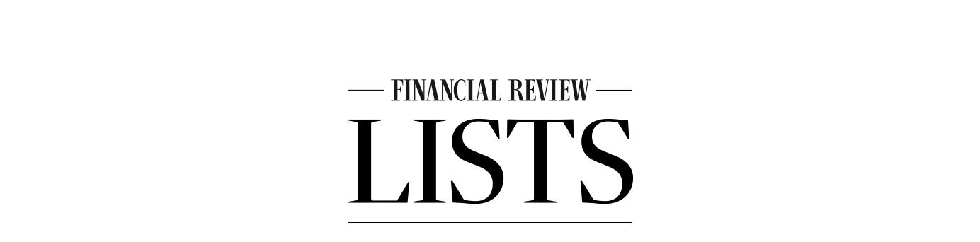 AFR Lists